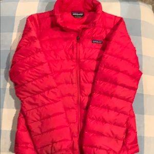 Patagonia, girls, red, jacket